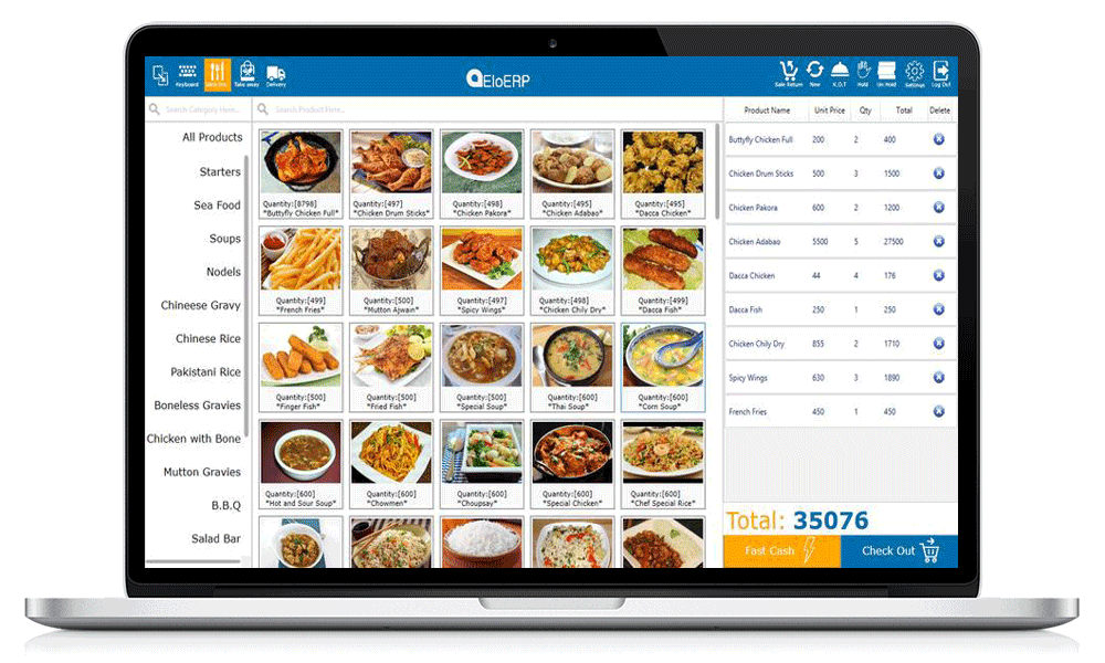 Restaurant Point Of Sale Software Eloerp