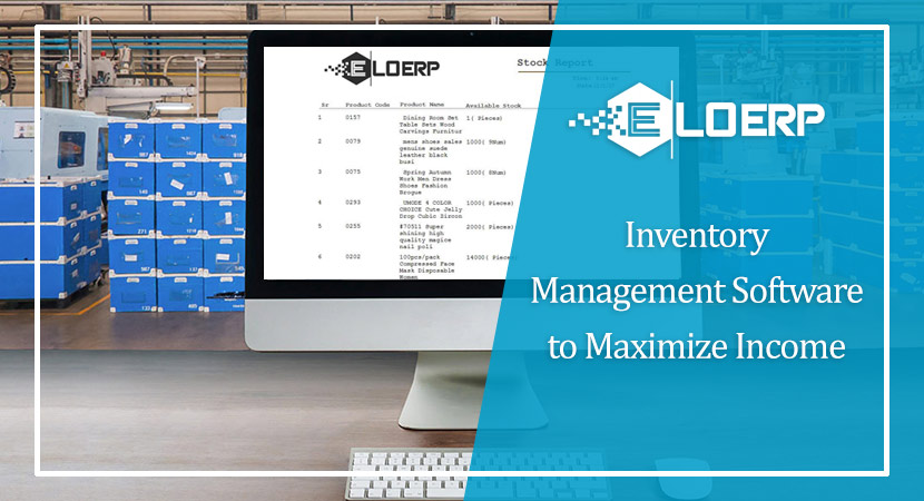 Inventory Management Software to Maximize Income