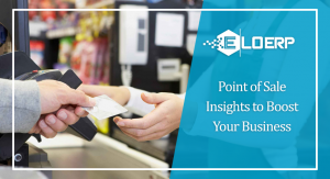 Point of sale, retail store, POS, ERP, Enterprise resource planning software, point of sale solution, point of sale system, erp solution, eloerp, erp
