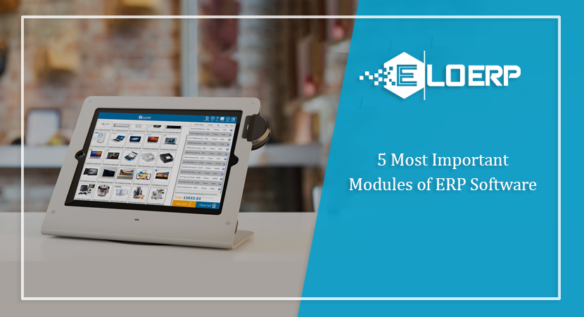 5 Most Important Modules of ERP Software!